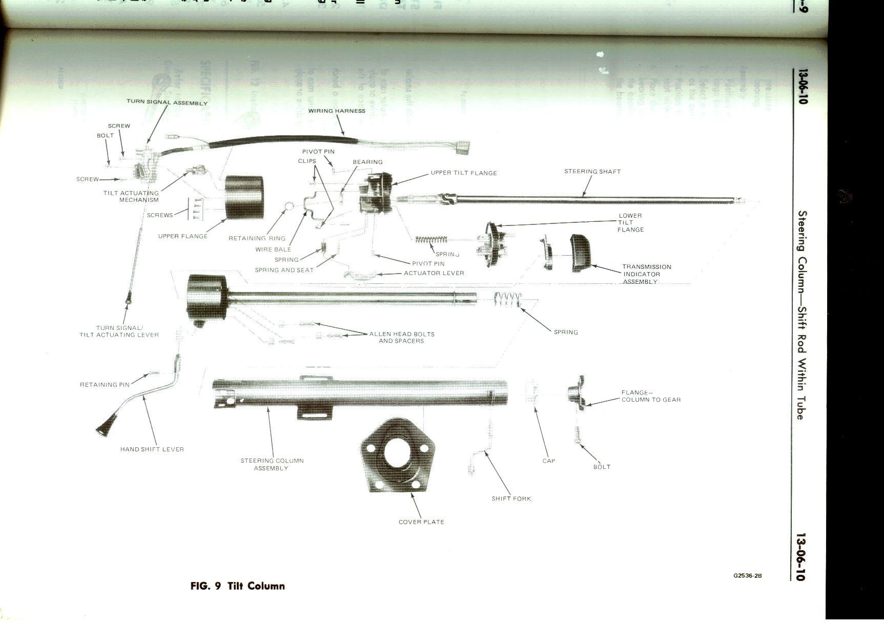 1978 F250 Steering Column Wiring