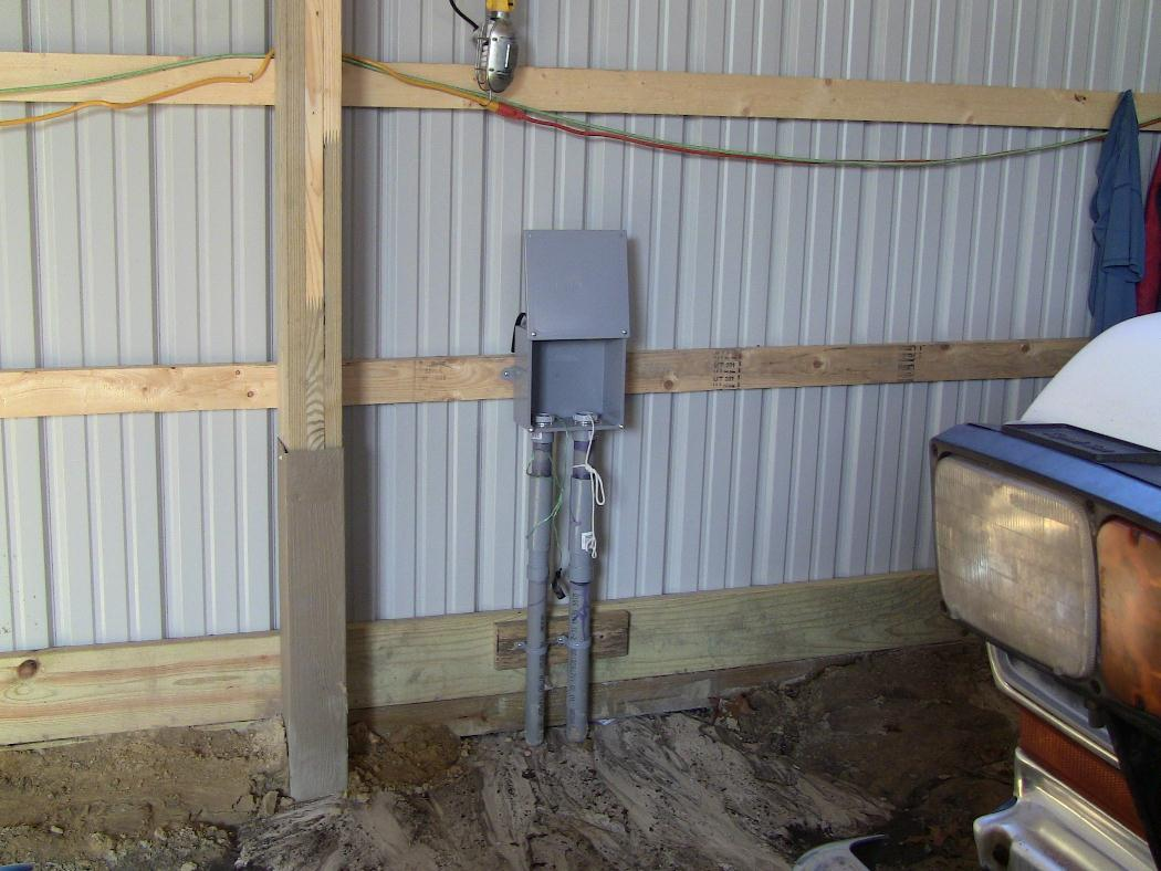 pole barn build......... - page 7 - ford bronco forum horse barn wiring diagram
